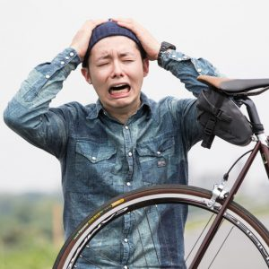 自転車故障
